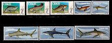 CISKEI 1983/85 serie 54-58 LES POISSONS seafish shark  squales, peche    28m228a