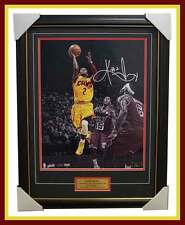 Kyrie Irving Signed Cleveland Cavaliers Signed Panini Authentic Photo Framed