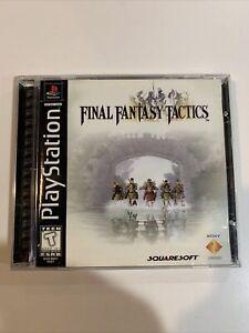 Final Fantasy Tactics (Sony PlayStation 1, 1998) Complete