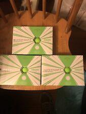 New listing callaway supersoft golf balls matte green 3 Dozen
