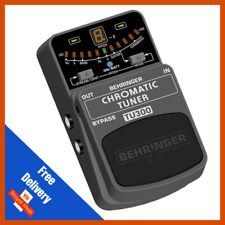 Behringer TU300 Chromatic Guitar & Bass Tuner | 7 Tuning Modes | New