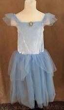 7 / 8 Cinderella Princess Costume Disney Store Deluxe dress Girls outfit medium