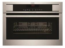 AEG KM8403101M Built in Combination 1000W Microwave Oven Grill Stainless Steel