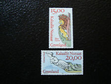 GROENLAND (danemark) - timbre - yt n° 272 273 nsg (A3) stamp greenland
