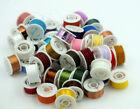 Fly Tying Grab Bag - 50 Rolls - Assorted Colors Tinsel Floss Dubbing Yarn