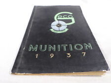 Geco Munition Ammunition Catalog 1937 and Price List