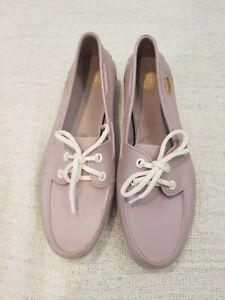Melissa Shoes Sneaker Loafer - VEGAN - EUC Nude AU 9 EU40