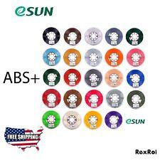 eSUN ABS+ 1.75mm ABS 3D Printer Filament 1kg Spool (2.2lbs) Bulk Discount