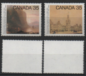 Kanada 1980 MiNr.: 762; 763 100 Jahre Royal Canadian Academy of Arts; Canada MNH