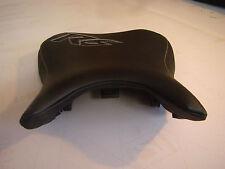 YAMAHA 06-07 YZF R6 RIDER SEAT COVER black carbon/smooth black vinyl