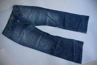 QS by s.Oliver Slim Herren Jeans Hose 34/32 W34 L32 stonewashed blau used l. TOP