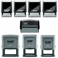 Personalised Rubber Stamps Business Address Office School Education Self Inking
