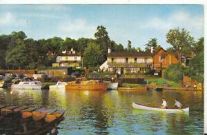 Berkshire Postcard - The Thames at Wargrave - Ref TZ5829