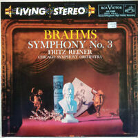 RCA LIVING STEREO LSC-2209 *SHADED DOG* 5S/5S BRAHMS SYMPHONY NO 3 REINER EX+/NM
