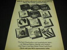 GORDON LIGHTFOOT Alice Cooper JONI MITCHELL Carly Simon more RARE 1974 Promo Ad