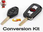 BMW 3 5 7 Serie X3 X5 E46 E38 E39 E60 E61 E53 E83 TRANSFORMATION KIT LLAVE KEY