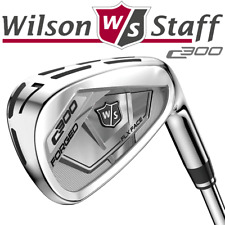 Wilson Staff 2018 C300 Forged 4-pw Irons / Stiff KBS Tour 105 Steel Shafts