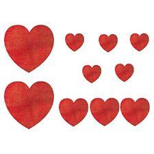 Festoni, ghirlande e striscioni rosso san valentino per feste e party