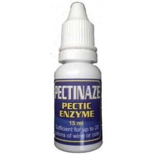 Pectinaze - Liquid Pectic Enzyme - 15ml - Treats up to 90 Litres - Harris