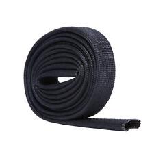 BLACK HEAT FIBERGLASS SLEEVE 12-17mm Diameter 3.3 fts Length Hiwowsport
