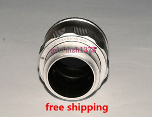 High-quality M42 to M42 Adjustable Focusing Helicoid adapter 25~55mm silvery