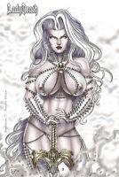 Lady Death  Revelations #1 NAUGHTY   Ltd. Ed. Comic Book
