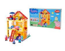 "Construction Set PlayBIG ""Peppa`s House"" Peppa Pig 107 pcs. for children 1,5 y.+"