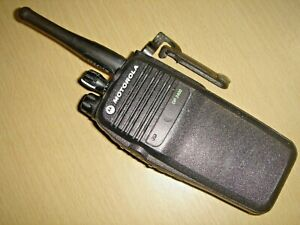 Motorola DP3400 UHF 403-470MHz DMR with  NEW battery