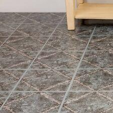 Peel And Stick Tile 45 Self Adhesive Vinyl Flooring Kitchen Bathroom Grey Floor