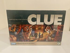 CLUE Mystery Detective Board Game 2005 Edition Parker Brothers Hasbro New SEALED