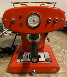 Espresso Machine- Fully Functional Red Francis Francis X1!!!!