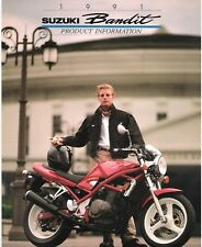 Suzuki GSF400 400 Bandit 1990 World Product Information brochure