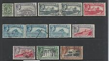 1938 -1945 New Views Part set of 12 All Used Per Scan