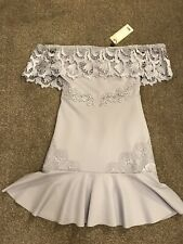 BNWT LIPSY LONDON LACEY LILAC EVENING BALL GOWN PARTY WEDDING PROM CHRISTENING