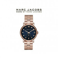 New MARC JACOBS MBM3332 LADIES ROSE GOLD BAKER MINI WATCH