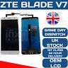 ZTE BLADE V7 LCD TOUCH WHITE SCREEN DIGITIZER OEM ORIGINAL DISPLAY WHITE