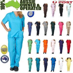 Female nursing scrub uniform SHIRT/TOP ONLY nurse medical surgical hospital