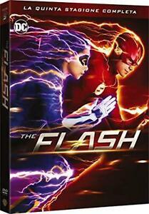 The Flash Stagione 5 Box 5 Dvd Originale Film Da Collezione In Italiano Sigillat