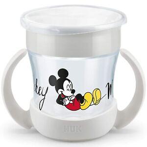 NUK Disney Mini Magic Cup Trinklernbecher   auslaufsicherer 360°  BPA-frei,Grau✅