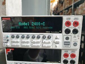 KEITHLEY 2400-C REV 32 A02 SOURCE METER  (R4S13.4)