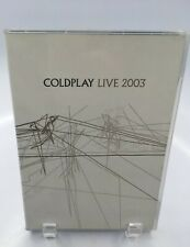 Coldplay Live Concert 2003 Documentary Dvd Cd Capital Records Unplugged