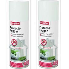 2 x Beaphar 200 ml Protecto Fogger Insekten Vernebler Flohbombe Anti Flohspray
