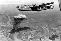 Fertile Myrtle USAAF Consolidated B-24 Liberator 4x6 WWII WW2 Photo 128