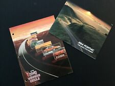 Lot of 2 - 1984 Pontiac Auto Sales Product Study Guide w Full Brochure - rare