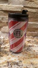 Nice - Starbucks Thermal Coffee Mug - Traveler Red Strips Cup Tea