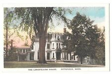 The Longfellow House, Pittsfield, Mass PPC Unposted by Chas Secor