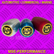 CLASSIC MINI GEAR KNOB 'S' LOGO RED ALUMINIUM MADE IN UK - AC01/C