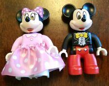 Walt Disney Minnie Pink Polka Dot Dress Mickey Mouse Duplo Lego