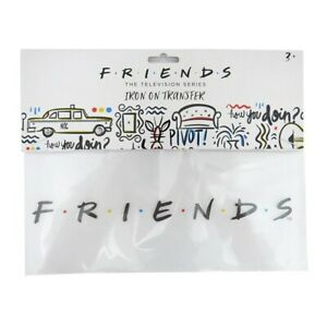 Friends The Television Series Iron on transfer logo