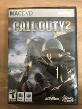 Call Of Duty 2 MAC DVD Activision PC game Aspyr with Manual Included